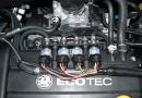 Vauxhall Astra 1.4L: LPG injectors