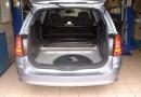 Vauxhall Astra 1.4L: LPG tank