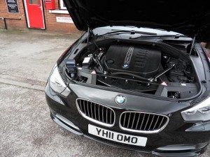 BMW 5 Series GT F07 530d - Select-A-Map Installation