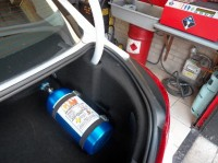 NOS Bottle Installed