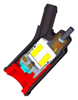 GSI Gas Injector - Cross-Section