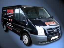 CRD Performance LPG/CNG Diesel Blend Transit Van
