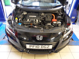 Honda Hybrid Electric STAG LPG conversion