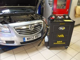 BG Machine Attached to a Customer's Vehicle
