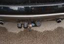 Nissan Murano V6 3.5L: LPG filler